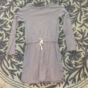 Gap long sleeve cotton dress
